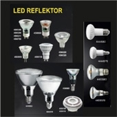LED REFLEKTOR GU10, Mr16, MR11, Par 30, Par 38,  AR 111
